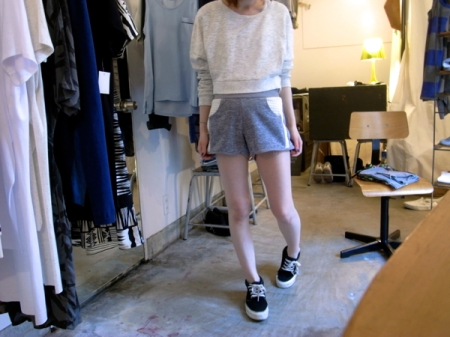 sweat short pants
